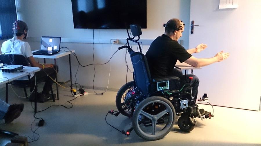 brainn cadeira de rodas BCI