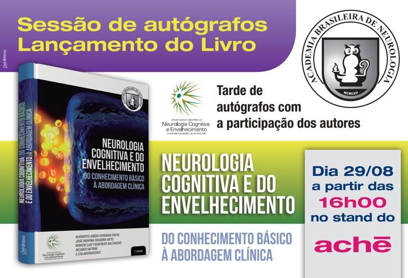 lançamento livro neurologia cognitiva e do envelhecimento