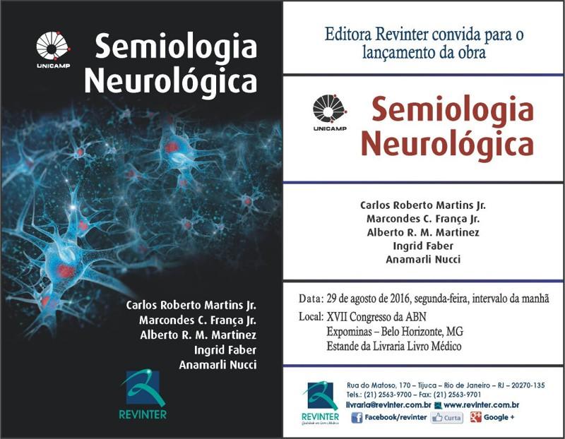 lançamento livro semiologia neurológica