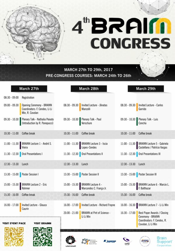 Programação 4th BRAINN Congress