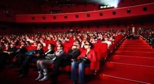 plateia no cinema - sincronicidade