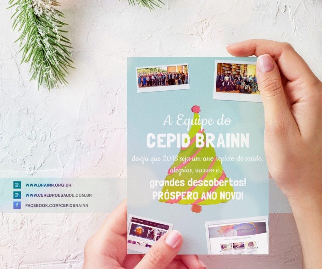 Cartao de Natal BRAINN - 2017