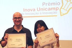 Pesquisa vinculada ao BRAINN ganha Prêmio Inova Unicamp de Iniciação à Inovação