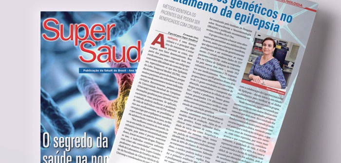 BRAINN epilepsia na revista super saudável
