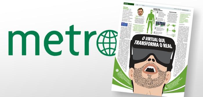 alexandre brandao no jornal metro - cepid brainn