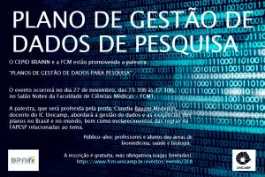 BRAINN - palestra gestao de dados(1)