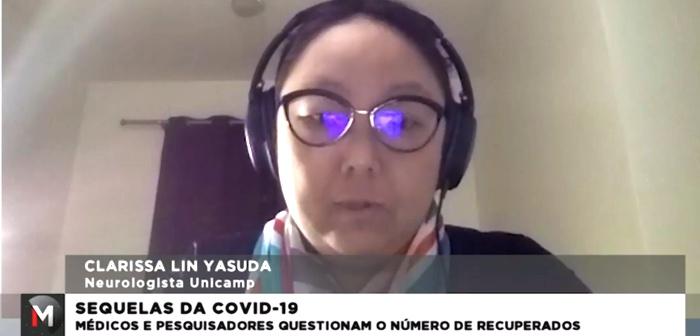 BRAINN - Jornal Minas - dra Clarissa Yasuda entrevistada sequelas COVID-19