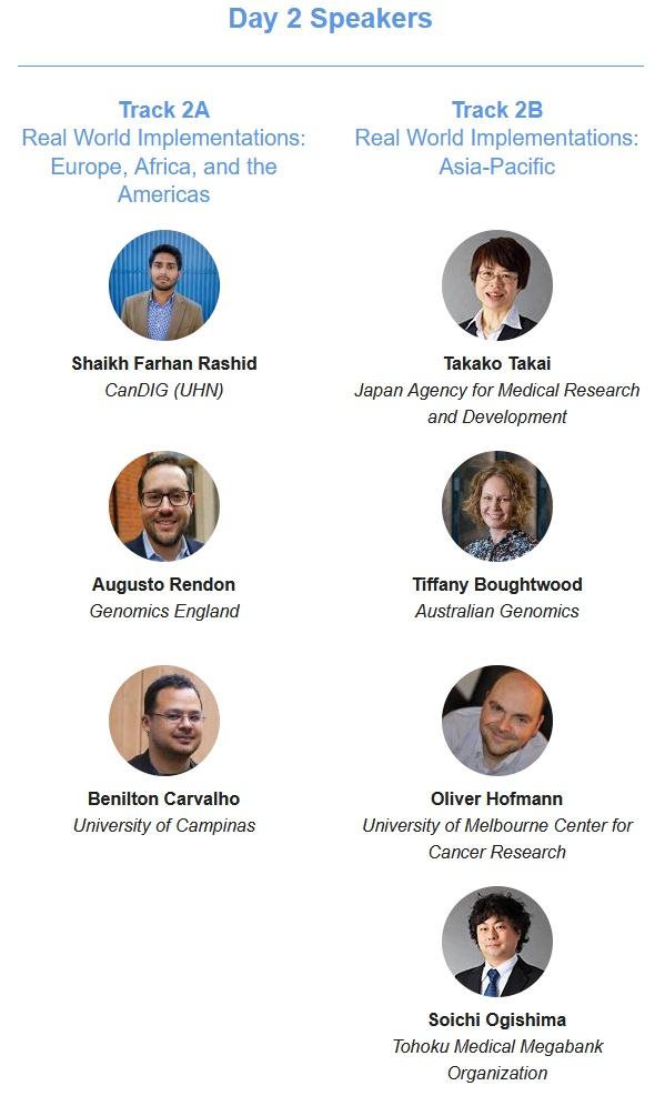 CEPID BRAINN - GA4GH 2020 - Day 2 Speakers
