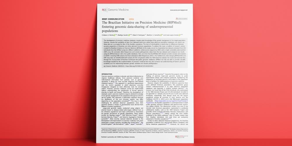 CEPID BRAINN - BIPMed na NPJ Genomic Medicine - artigo