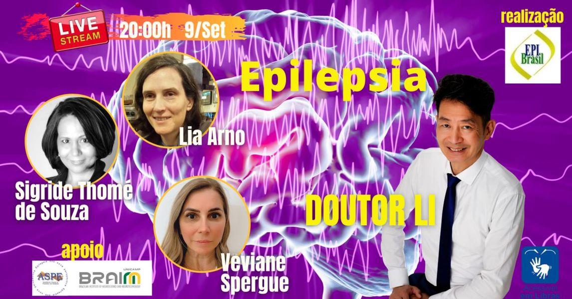 BRAINN - divulgacao live epilepsia BRAINN setembro 2021